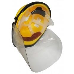 kask elektroizolacyjny z przyłbicą