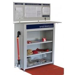 szafka BHP na narzędzia elektryka i sprzęt ochronny